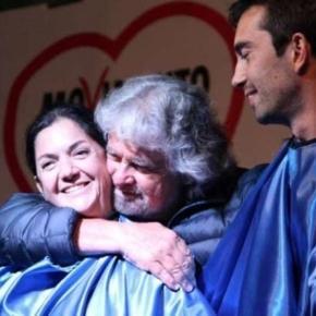 Marika Cassimatis e Beppe Grillo, della serie 'c'eravamo tanto amati'