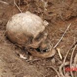 Proiettili e fibbie in dotazione all'esercito inglese assieme alle ossa ritrovate a Giovi, Salerno.