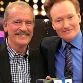 """""""Conan sin fronteras: Hecho en México"""" fue transmitido ayer y contó con Fox y el actor Diego Luna como invitados."""