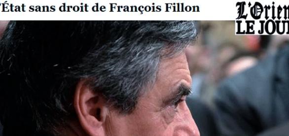 Très dur éditorial du quotidien libanais L'Orient-Le Jour sur François Fillon. Seule la presse russe le choit encore