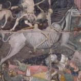 """Il trionfo della morte"""" visitabile a Palazzo Abatellis di Palermo"""