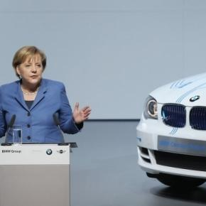 Angela Merkel Photos Photos - BMW To Produce Electric Cars In ... - zimbio.com