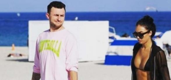 Johnny Manziel and Bre Tiesi are officially engaged - Houston ... - chron.com
