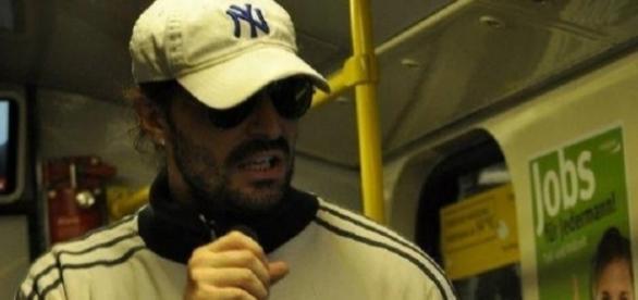 Nicolò Modica, in arte 'Metroman' (foto presa dal suo profilo Fb)