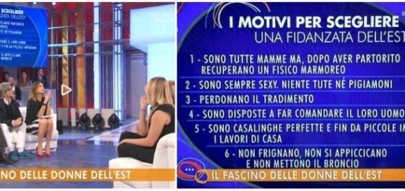 Paola Perego conduce un dibattito sul perchè gli italiani preferirebbero le donne straniere: polemiche