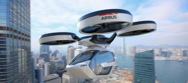 Airbus : L'arrivée du taxi volant pour 2017 ?