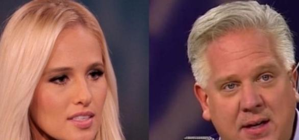 Tomi Lahren and Glenn Beck, via YouTube