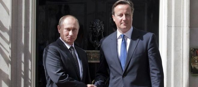 Cameron on Putin: 'I don't look quite the same with my shirt off'