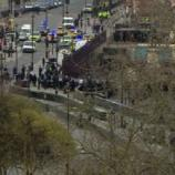 Parliament Square closed after terror incident (source: bbc.co.uk)