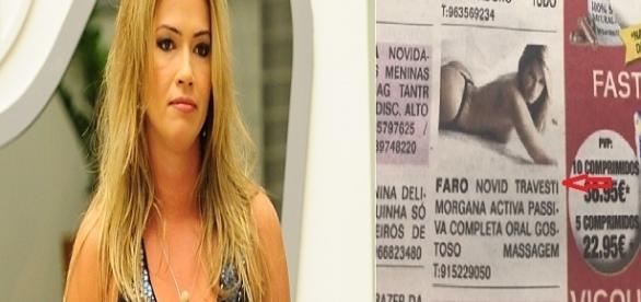 Fani vira travesti e garota de programa segundo jornal português
