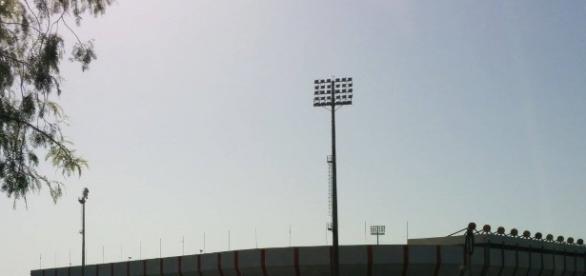 Il campo B dello stadio Erasmo Iacovone teatro dell'aggressione nel pomeriggio.