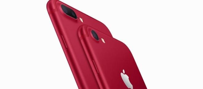 Tudo Vermelho na Apple: Conheça os Iphones em parceria com a (RED)