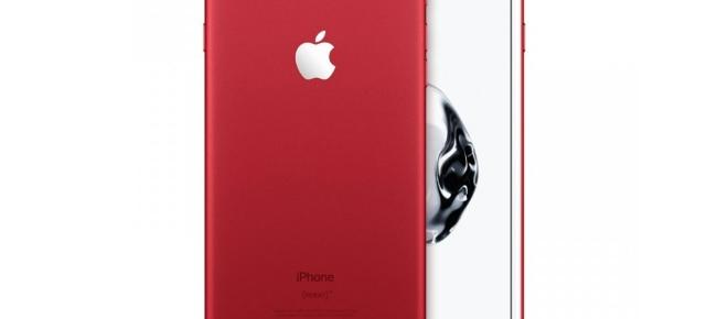 Apple Releases the red iPhone 7