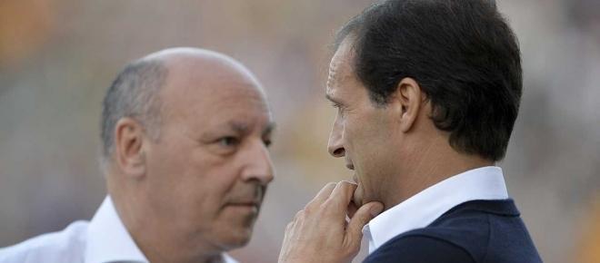 Calciomercato Juve, Marotta prepara un poker di colpi per 'blindare' Allegri?
