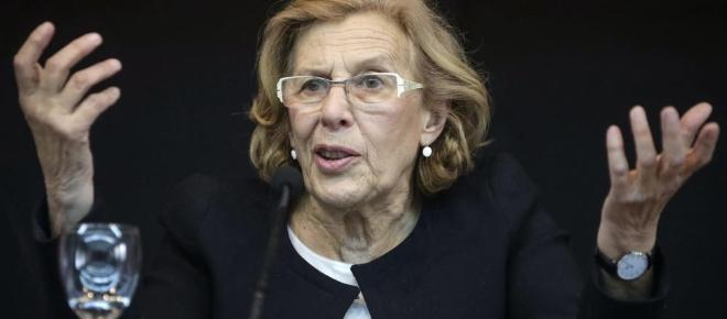 Manuela Carmena habla de los okupas