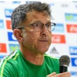 Juan carlos Osorio confirmó el control antidoping de hoy por parte de la FIFA