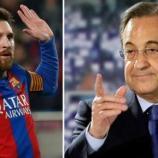 Leo Messi y Florentino Pérez son actualidad