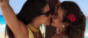 """Geisy Arruda é lésbica? Ela está """"conhecendo"""" uma garota, Nuelle e estão em viagem romântica. Confere!"""