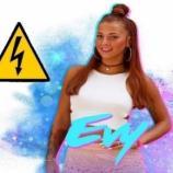 Déjà 3 programmes de télé réalité pour Evy, qui n'a pas la langue dans sa poche