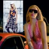 Iggy Azalea sexy im neuen Video (re.) und posierend für die Presse (li.), Fotos: Universalmusic; Max Abadian