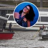 Momentul salvării tinerei Andreea Cristea din apele Tamisei după cumplitul atac terorist din Londra - Foto: Daily Mail/ © Jamie Lorriman