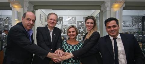 Botafogo e Caixa chegam a acordo (Foto: Vítor Silva/SSPress/Botafogo