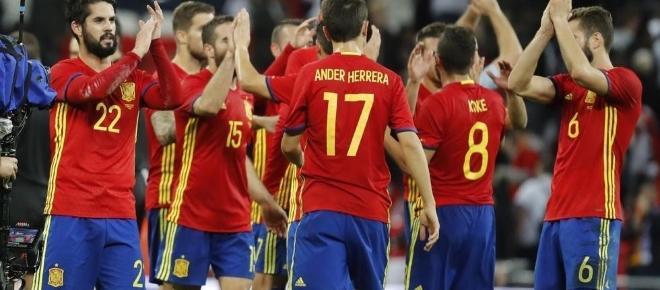 Decisiva victoria de España en la tierrina asturiana