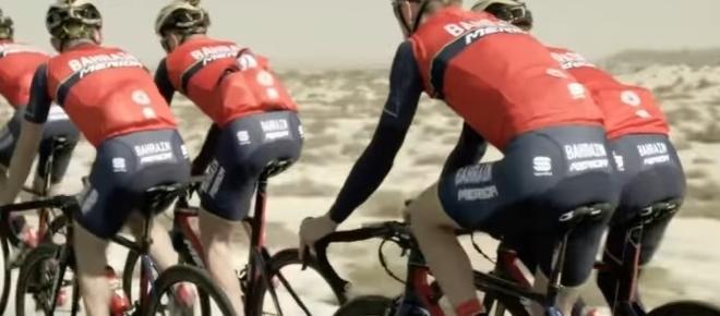 Ciclismo, il Team Bahrain perde il suo capitano per le classiche