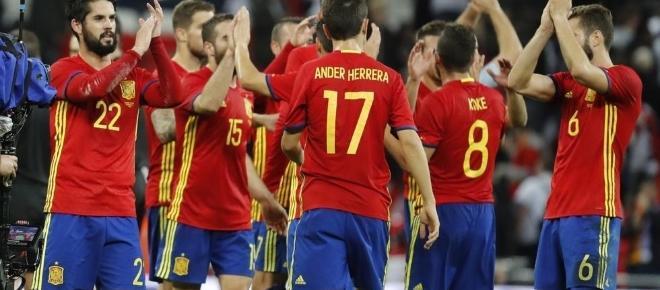 Contundente victoria de España en la tierrina asturiana