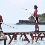 I naufraghi dell'Isola dei Famosi durante la prova ricompensa