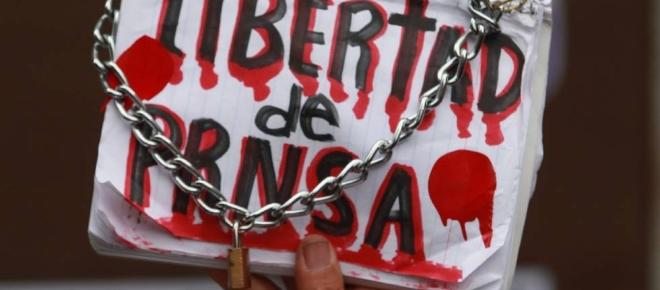 México, país más inseguro de América Latina para ejercer el periodismo