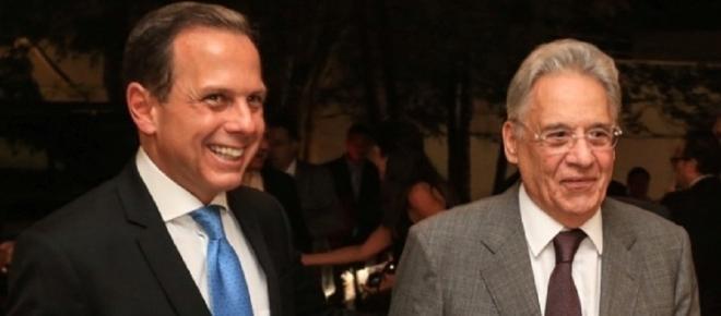 Doria dá resposta 'contundente' a FHC sobre possível candidatura à Presidência