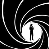 O clássico logo usado na série 007