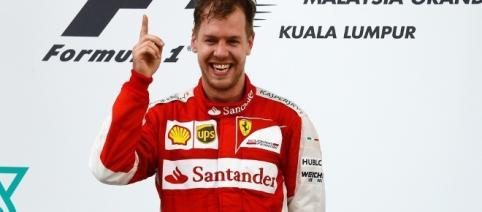 Seb Vettel ha vinto il primo gran premio dell'anno