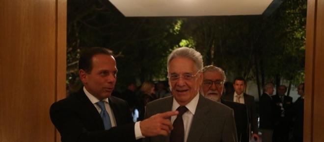 Doria vai à casa de FHC e ganha conselho 'inusitado' sobre disputa à Presidência