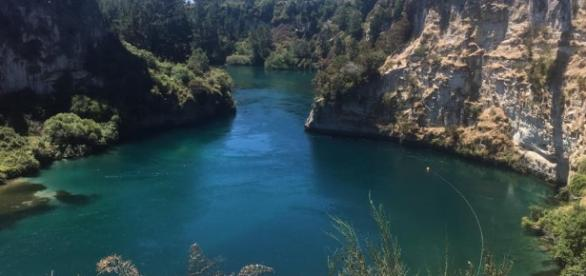 Waikato River, near Lake Taupo