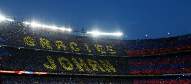 Le Barça a commémoré Johan Cruyff le week-end dernier !