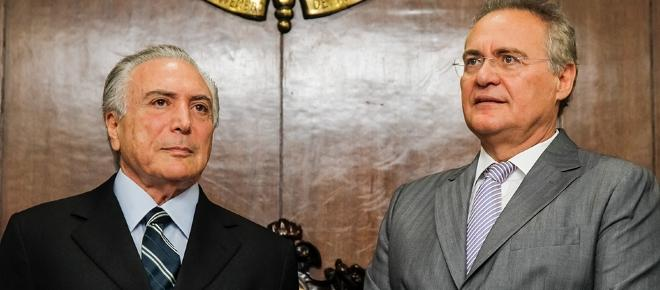 Calheiros é o 'aliado' com mais discurso de oposição de Temer