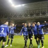 Los jugadores del Real Oviedo celebrando la victoria ante el Girona en el 91 aniversario. Foto: Real Oviedo