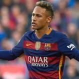 Neymar Junior sous le maillot du FCB