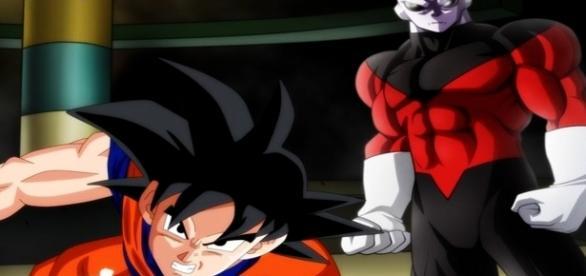 FanArt Goku vs Jiren en el torneo de poder