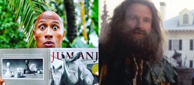 Cinéma : Le reboot de Jumanji, avec Dwayne Johnson, a un titre