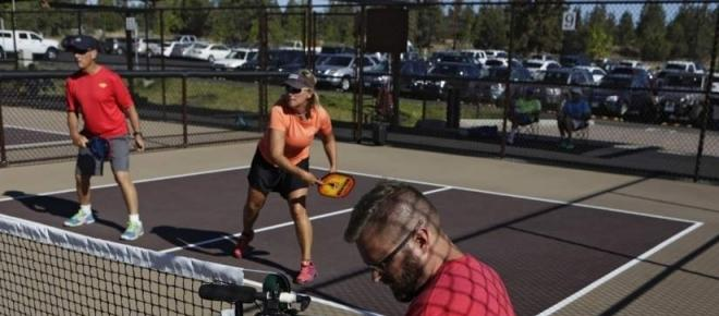 Pickleball popularity picking up the pace