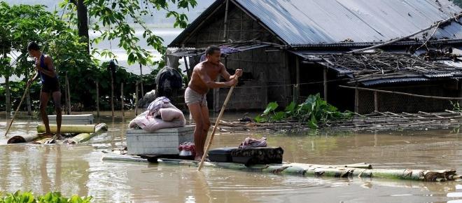 Die Gefahr des indischen Monsuns