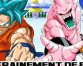 Officiel DBS 85 : Gokû se bat contre un Buu mince !