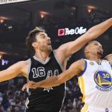 Spurs recibe a Warriors, en la lucha por el primer lugar del oeste.