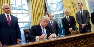 How many executive orders has Donald Trump signed, what are ... - thesun.co.uk