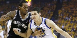 Kawhi Leonard and the Spurs host Klay Thompson and the Warriors on Wednesday. [Image via Blasting News image library/inquisitr.com]