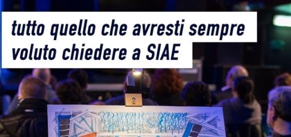 Dialogando con SIAE - appuntamento domenica 9 aprile per tutto quello che avresti sempre voluto chiedere a SIAE