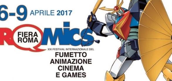 Romics dal 6 aprile al 9 aprile 2017